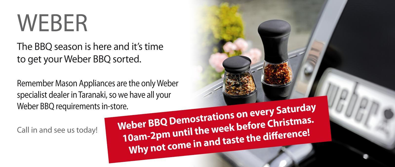 Weber General Demo