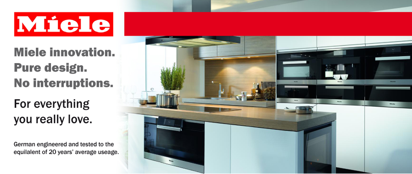 Website Miele Slider