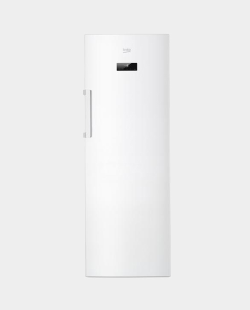 Beko 290L Upright Freezer RFNE290E23W