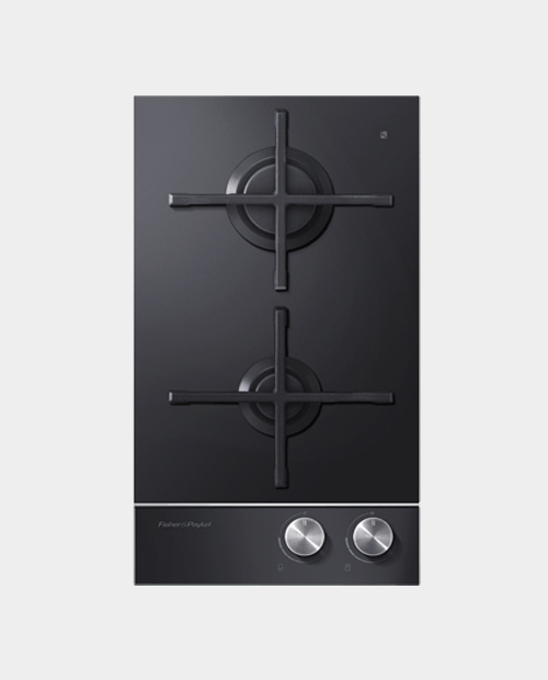 Fisher & Paykel 30cm Gas on Glass Hob – CG302DNGGB1