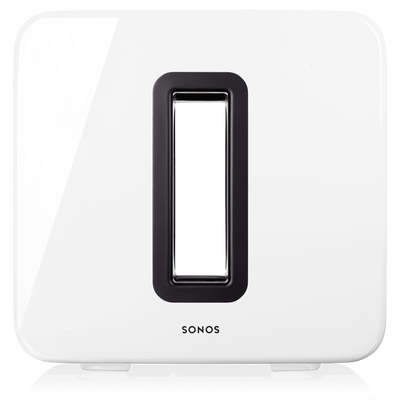 Sonos Wireless Subwoofer For Sonos Speakers White