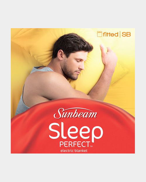 "Sunbeam ""Sleep Perfect"" Fitted Single Electric Blanket BL5121"