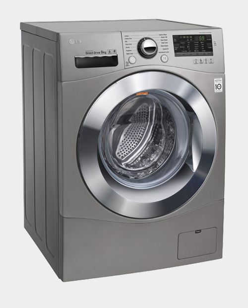 LG 9kg Front Load Washing Machine WD1409NPE (Stone Silver)