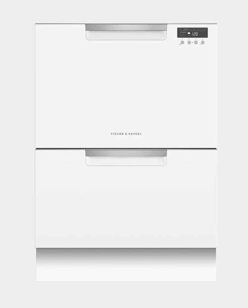 Fisher &n Paykel Double Dishdrawer White DD60DCW9