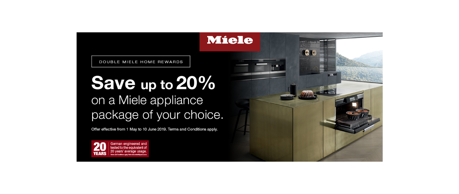 Miele May Special 2019